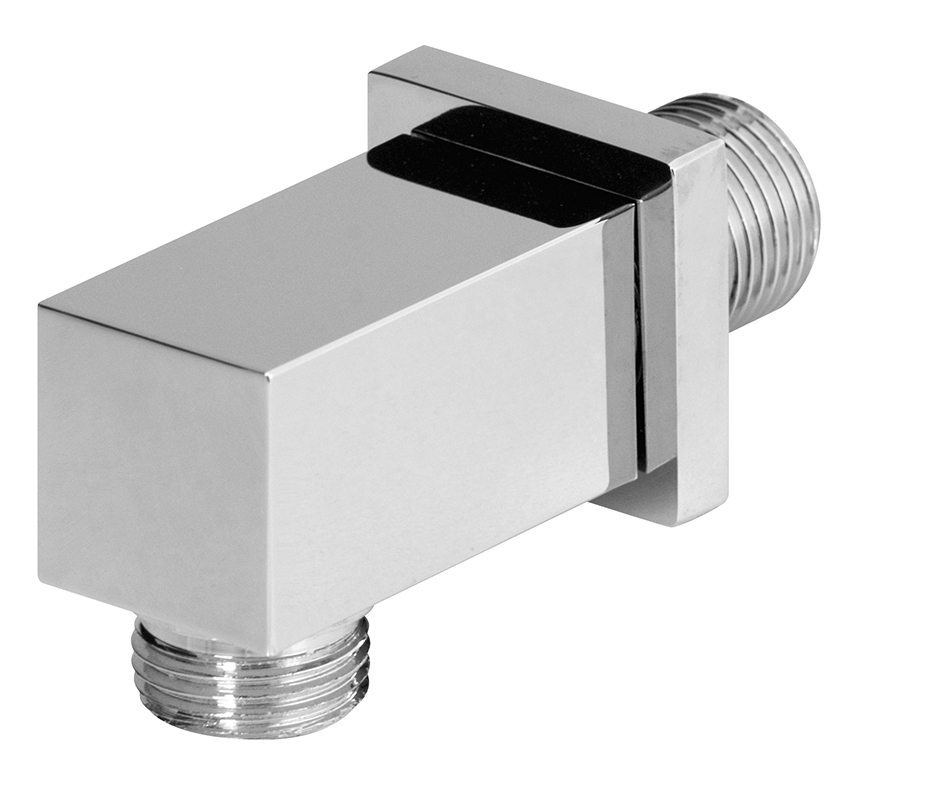 "1/2"" M x 1/2"" M water connection, chrome"