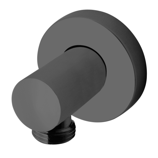 "1/2"" M x 1/2"" M water connection, mat black"
