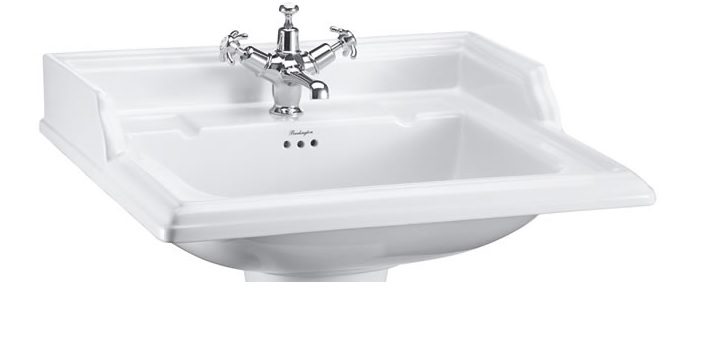 Burlington Classic Rectangular basin 65 cm