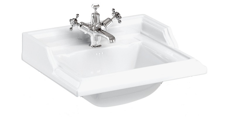 Burlington Classic Rectangular basin 50 cm