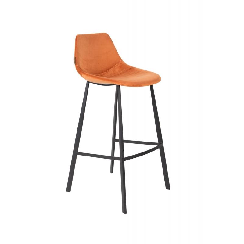 baarituoli Franky Velvet, oranssi