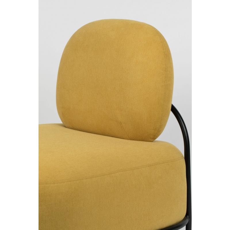 Keltainen Nojatuoli