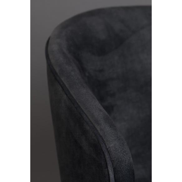 Tuoli Lunar Velvet Anthracite FR