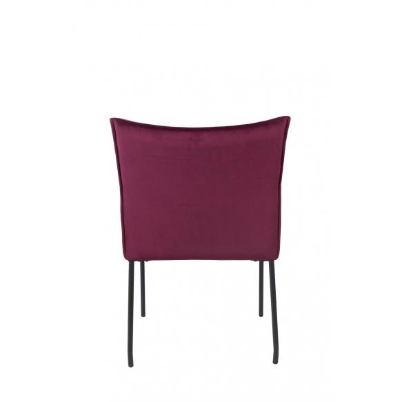 käsinojallinen tuoli Dion Velvet, Wine