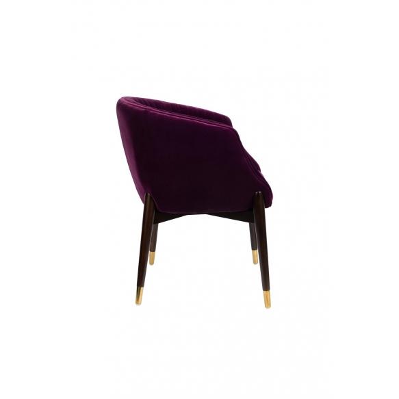 käsinojallinen tuoli Dolly Purple (fire retardant)