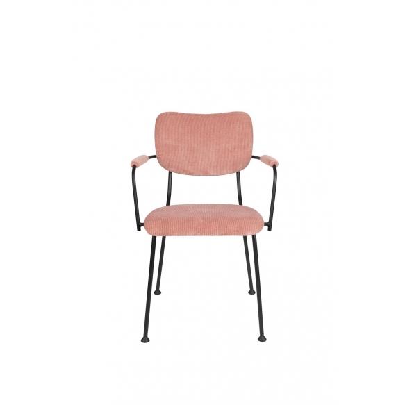 käsinojallinen tuoli Benson, Pink