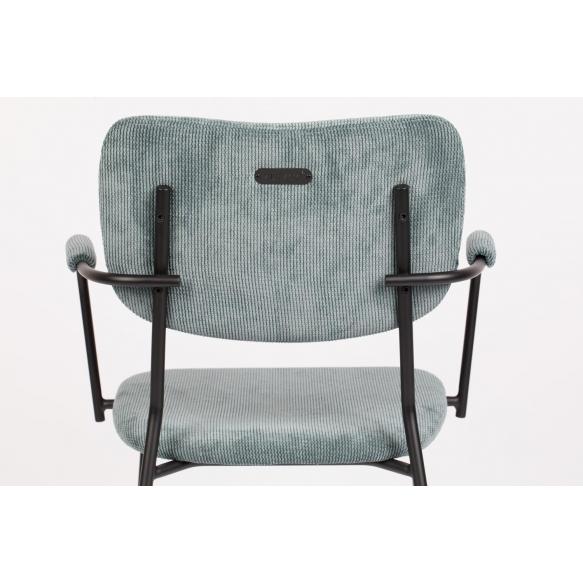 käsinojallinen tuoli Benson, Grey Blue