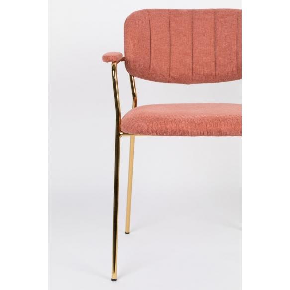 Käsinojallinen Jolien Gold/Pink