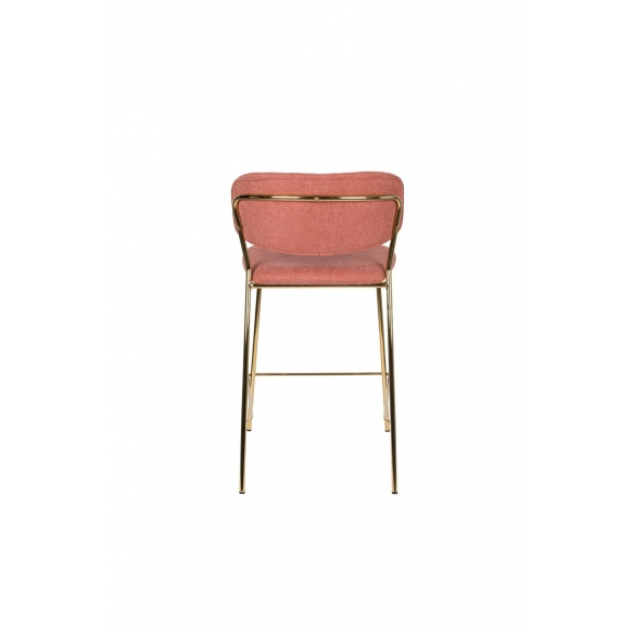 Baarituoli Jolien Gold/Pink