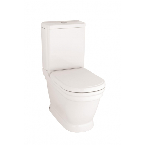 wc kompakt Antique, universaalne trapp, valge, ilma istmeta