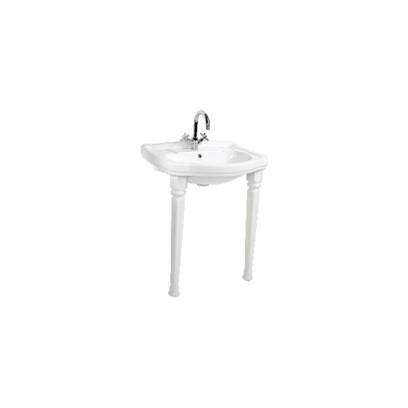 KLASIK (RETRO) antiik valamujalg, valge (ühele valamule vaja kaks jalga)