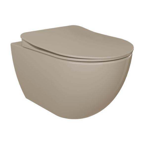 seina wc Free, matt cappucino, ilma istmeta