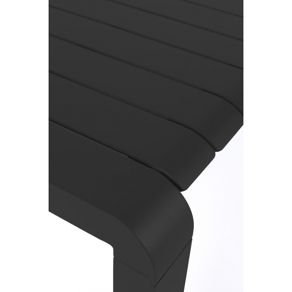 Ulkotilan penkki Vondel 129,5X45 Black