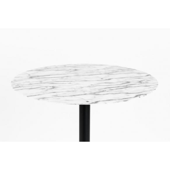 bistropöytä Snow, Marble
