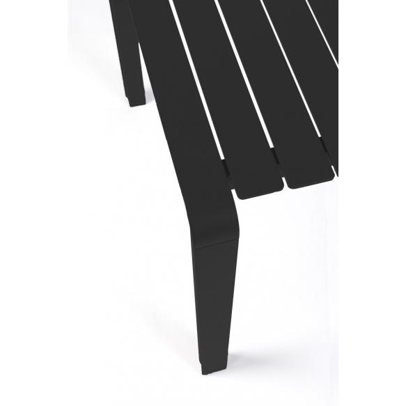 Ulkotilan pöytä Vondel 168,5X87 Black