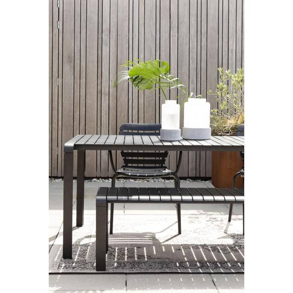 Ulkotilan pöytä Vondel 214X97 Black