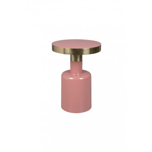 apupöytä Glam, roosa