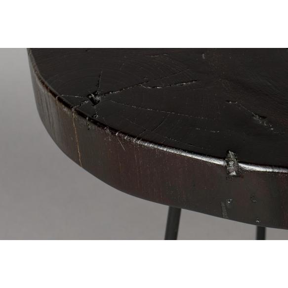 Apupöytä Kraton Chocolate Black S