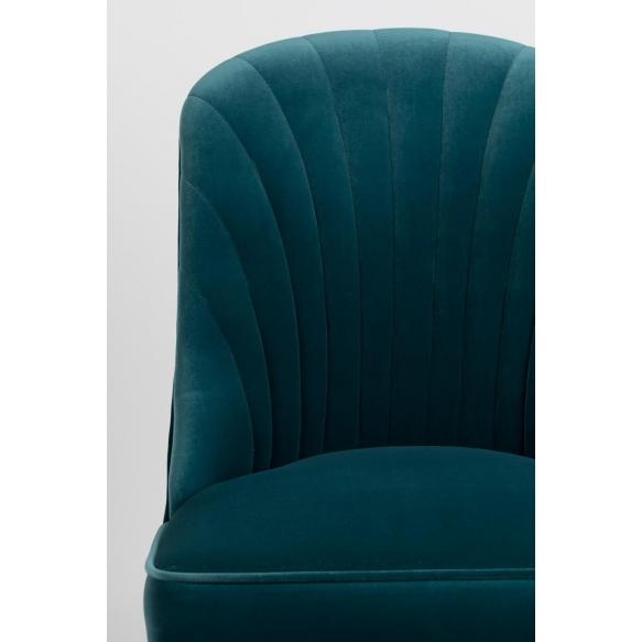 tuoli Give Me More Velvet, sininen