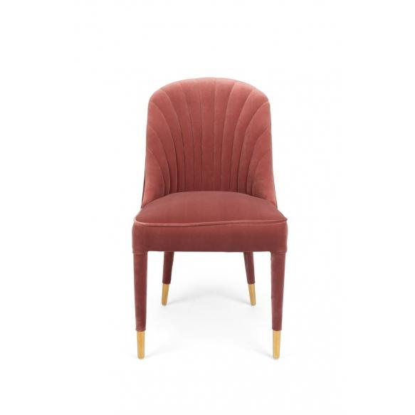 tuoli Give Me More Velvet, vaaleanpunainen