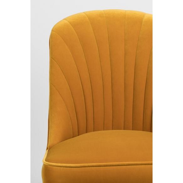 tuoli Give Me More Velvet, keltainen