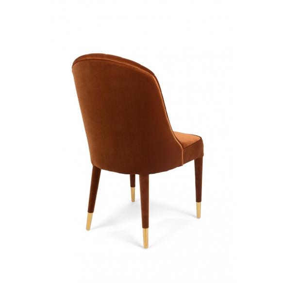 tuoli Give Me More Velvet, oranssi