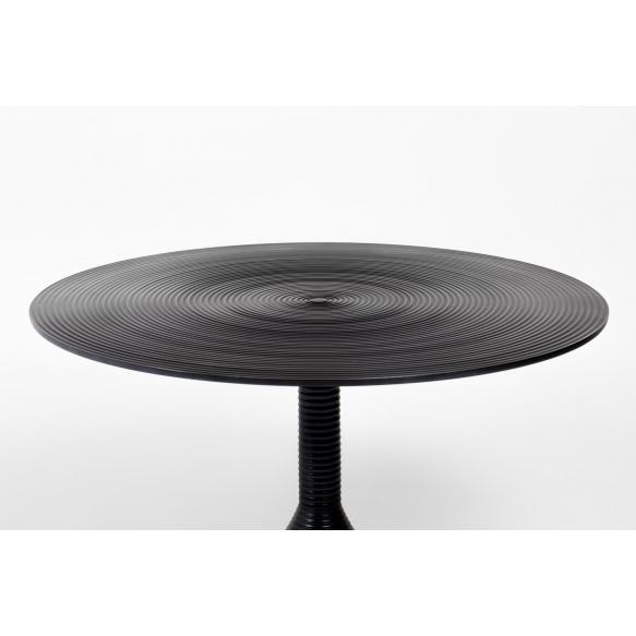 kahvipöytä Hypnotising Round, Black