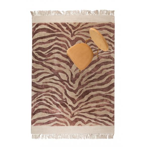 matto Zebra Friendly 200X300 Pink