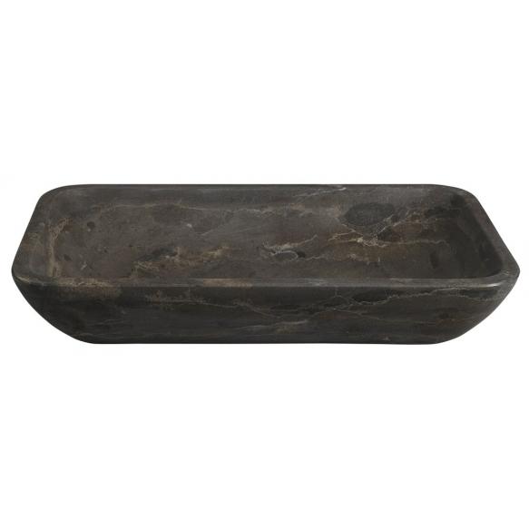 valamu Blok 60x35 cm, poleeritud tume marmor