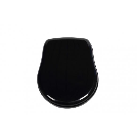 Kerasan must prill-laud Retro, kroomitud hinged (ei ole soft-close)