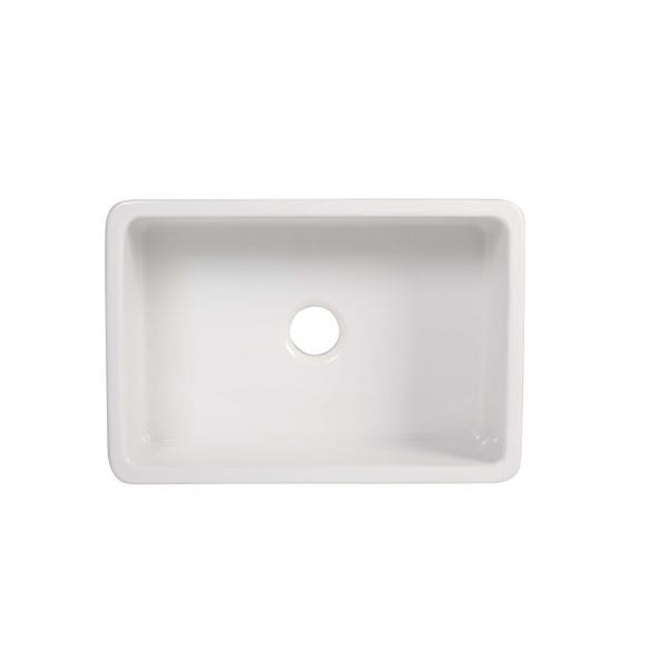 keraamiline köögivalamu Yorkshire, 75x47 cm, valge, pööratav