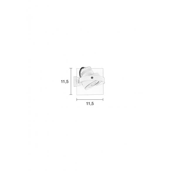 kohdevalaisin Luci-1 DTW, valkoinen