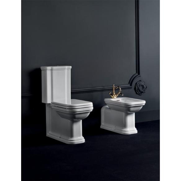 wc kompakt Waldorf, universaalne äravool,pronks loputusmehhanism
