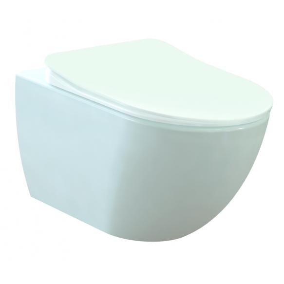 seina wc Free, valge, ilma istmeta