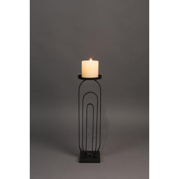 Kynttiläjalka Proa Black M