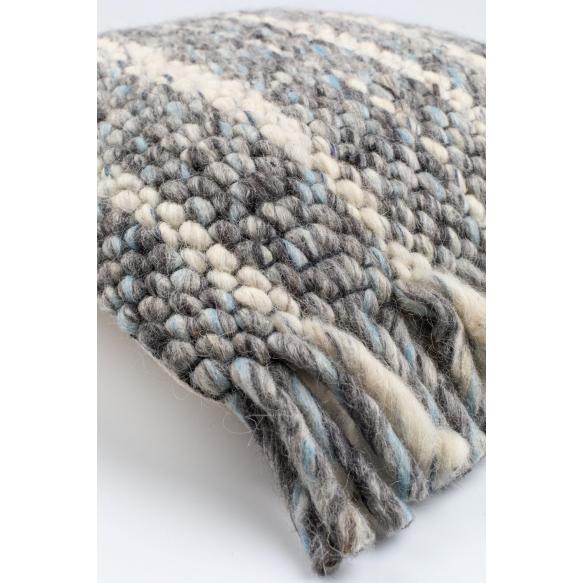 tyyny Frills Grey/Blue