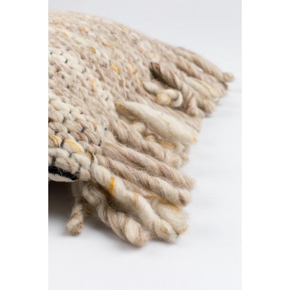 tyyny Frills Beige/Yellow