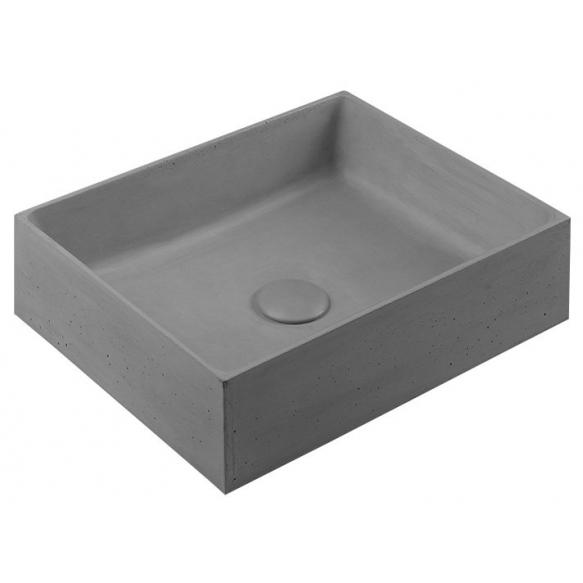 betoonvalamu Formigo 47x13x36 cm, hall koos põhjaklapiga