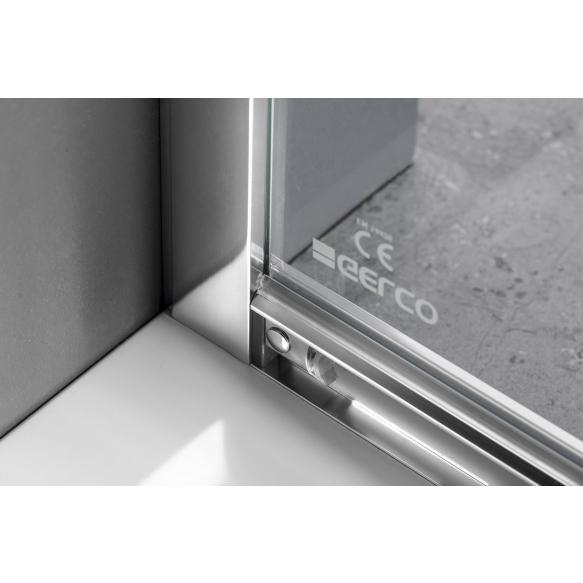 Dušinurk SIGMA SIMPLY 900x900mm, tekstuurklaas