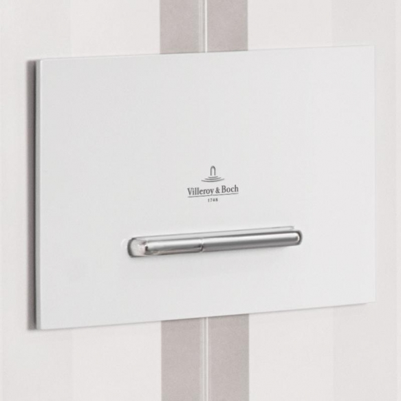 huuhtelupainike Villeroy & Boch ViConnect E300 valkoinen