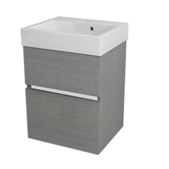 allaskaappi Interia Largo 49x60x41 cm, Silver Oak