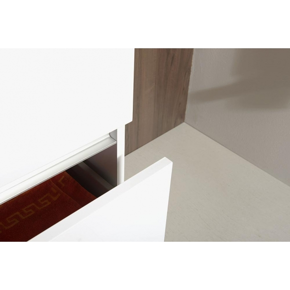 allaskaappi Interia Largo 49x60x41 cm, valkoinen