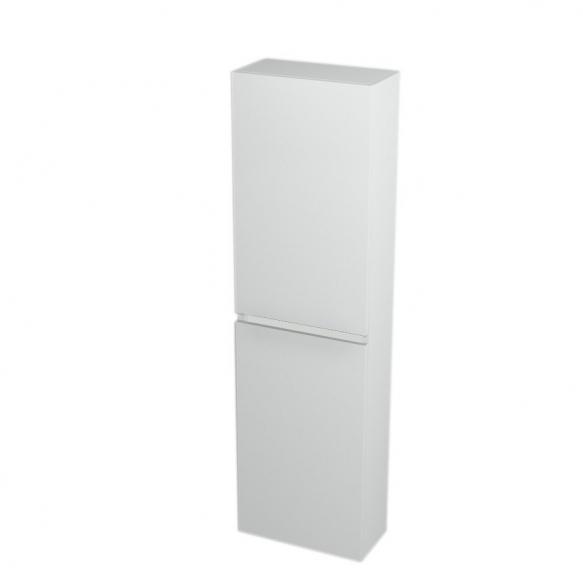 korkea kaappi  Interia Largo 40x140x20 cm vasen/oikea, valkoinen