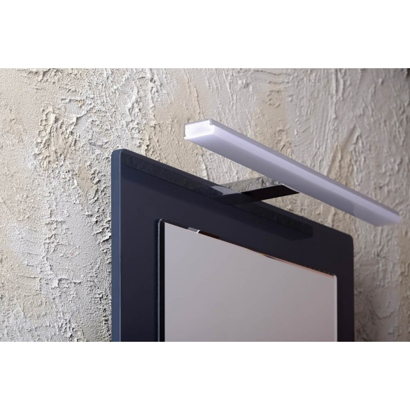 FELINA LED valgusti, 12W, 608x15x112mm, kroom