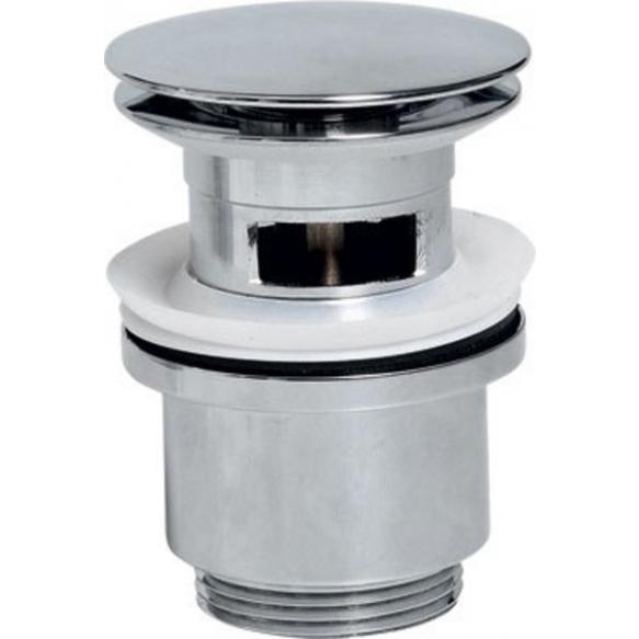 klik-klak -pohjaventtiili, kromi, halk. 67 mm 1 1/4´´