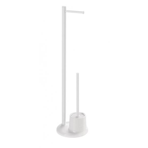 wc-harjateline + paperiteline Interia MM32, lattiamalli, valkoinen