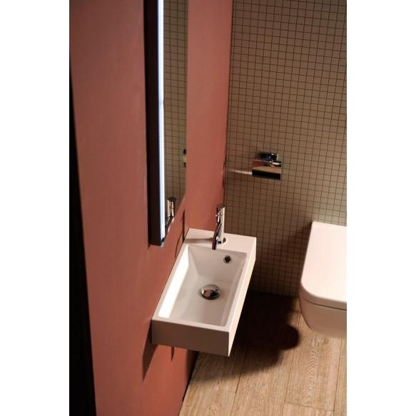 pesuallas Interia Ariana SM012, komposiittikivi, vasenkätinen, 500 X 250 x 100 mm