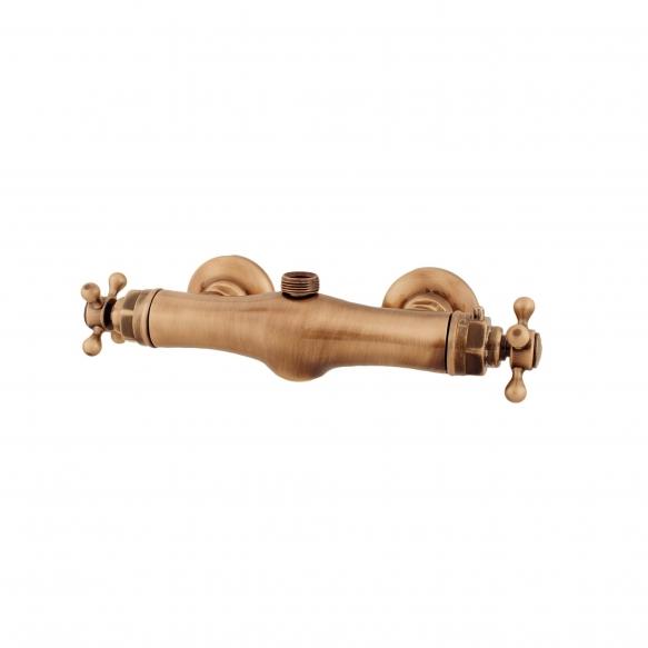 termostaatti suihkuhana, pronssi, päältä 3/4 ´´ liitäntä