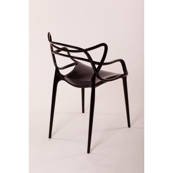 pinottava tuoli Mucha, musta