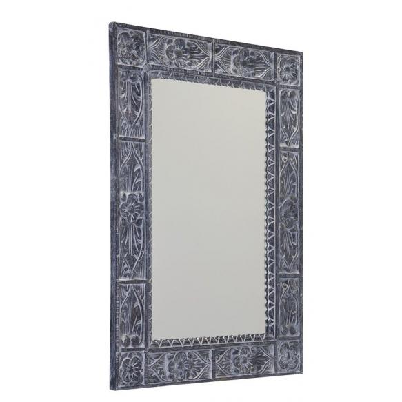 puukehyksinen peili Ubud, 70x100 cm